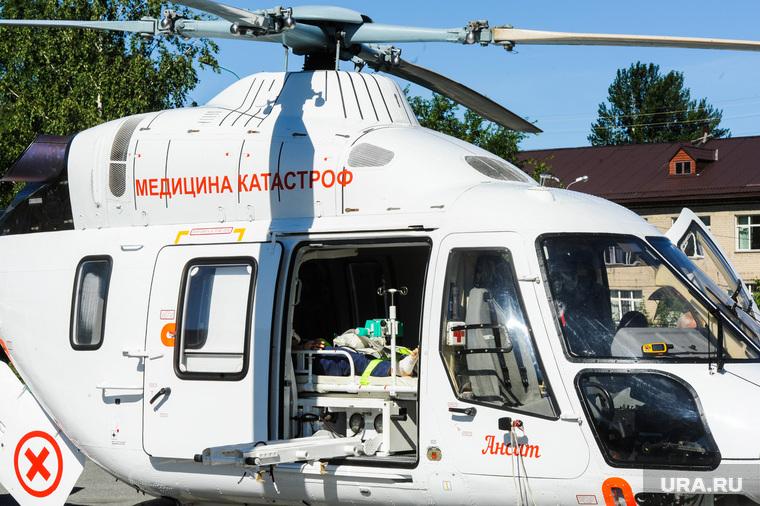 Презентация вертолета медицины катастроф. Челябинск, вертолет медицины катастроф