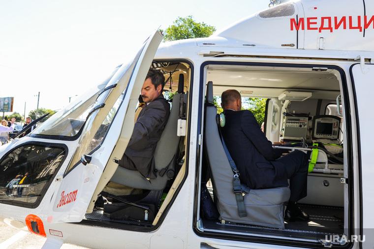 Презентация вертолета медицины катастроф. Челябинск, редин евгений