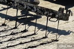 Укладка асфальтобетона по проспекту Победы в рамках реализации проекта «Безопасные и качественные дороги». Челябинск, укладка асфальта, битум, дорожная техника