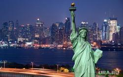 Клипарт depositphotos.com, небоскреб, сша, статуя свободы, обзор нью йорка