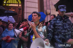 Марш матерей. Москва, громкоговоритель, наринская анна