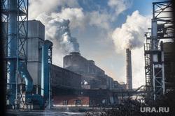 Нижнетагильский металлургический комбинат. Совещание во главе с Евгением Куйвашевым во Дворце культуры города. Нижний Тагил, дым, промышленность, труба, выбросы, экология