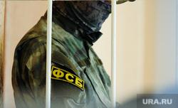 Избрание меры пресечения Владимиру Белоносову, обвиняемому в коррупции. Челябинск, фсб, решетка, суд, клетка, камуфляж