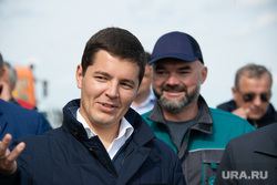 Артюхов и Моор посетили Надым, артюхов дмитрий, рысков александр