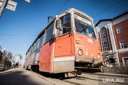 Пермь. Клипарт., трамвай, общественный транспорт