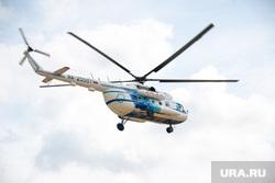 Артюхов и Моор посетили Надым, вертолет