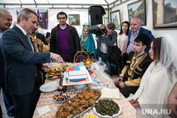 Празднование Дня России. Тюмень, моор александр, свадебный обычай, накрытый стол