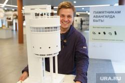 За день до открытия выставки конструктивизма в музее Архитектуры и дизайна . Екатеринбург, макет, сучков никита, белая башня
