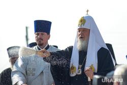 Визит Патриарха Кирилла  в село Батурино. Курганская область, патриарх, православие