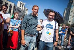 Митинг Либертарианской партии против пенсионной реформы. Москва, футболка, навальный алексей, все было хорошо пока не пришел навальный