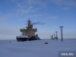 Комиссия ЦИК в Сабетте, ледокол москва, северный морской путь