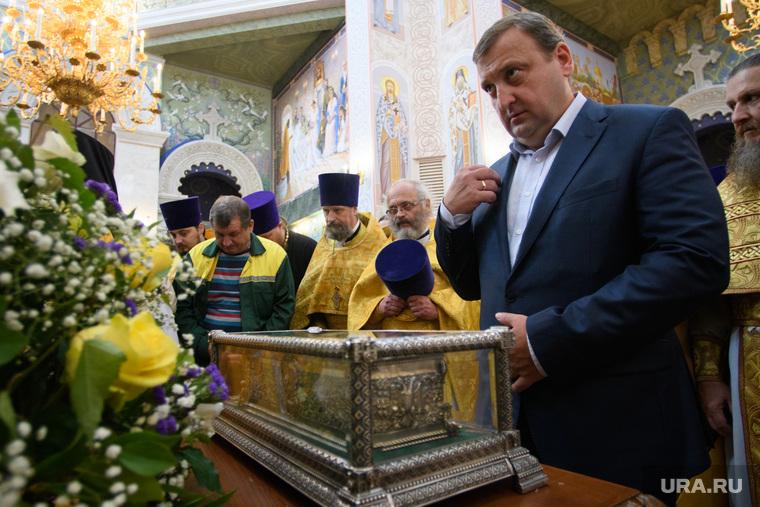 Мощи святителя Спиридона Тримифунтского в Храме на крови. Екатеринбург, рыжков александр