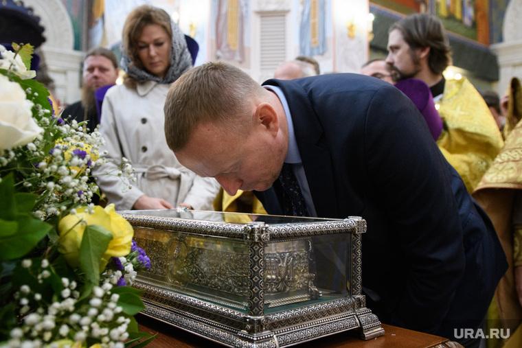 Мощи святителя Спиридона Тримифунтского в Храме на крови. Екатеринбург, тушин сергей