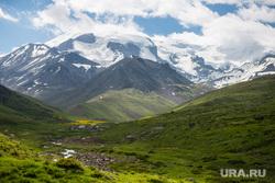 Кавказские горы в окрестностях Эльбруса, туризм, горы, природа россии, природа кавказа, приэльбрусье, гора эльбрус, долина реки уллухурзук, достопримечательности кавказа