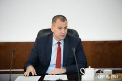 Пресс-чай у главы Сургутского района Андрея Трубецкого. Сургут, трубецкой андрей
