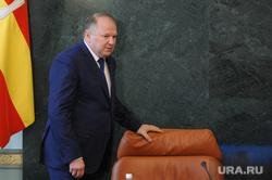Совещание с полпредом президента Николаем Цукановым. Челябинск, кресло, цуканов николай