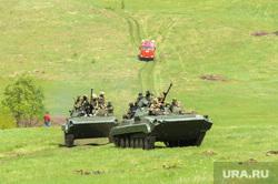 Тактико-специальное учение «Арсенал - 2018» на территории Карабашского городского округа Челябинской области, бмп, на броне, военные учения, учения спецслужб