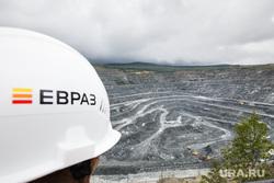 Качканар. Подрыв горной породы на Северном карьере. КГОК, добыча руды, карьер, евраз, качканарский, горнообогатительный
