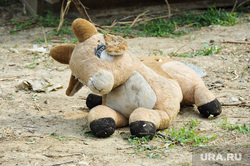 Стройка ЧелСИ в Чурилово Челябинск, мягкая игрушка, лось