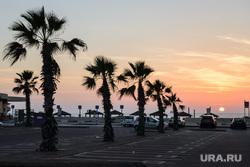 Виды Тель-Авива, Ашдода, Иерусалима. Израиль, закат, туризм, путешествие, тепло, курорт, пальмы, вечер, отдых, берег моря, отпуск, ашдод