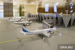 Макет реконструкции Аэропорта Новый Уренгой, аэропорт, макет, новый уренгой, самолет