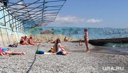 Крым. Отдых, галька, пляж