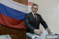 Выборы губернатора и в городскую думу. Тюмень, моор александр, выборы, голосование, урна для голосования