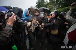 Всероссийская акция против повышения пенсионного возраста (НЕОБРАБОТАННЫЕ). Екатеринбург, омон, акция, полиция, задержания, несанкционированный митинг, толпа, несанкционированная, несогласованная