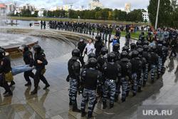 Митинг Екатеринбург , омон, полиция, оцепление, задержание, октябрьская площадь, задержания, строй
