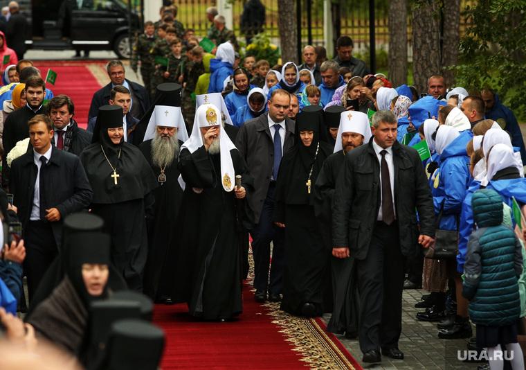 Визит патриарха Кирилла. Когалым