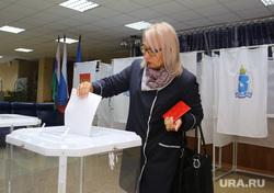 выборы Тюменского губернатора 9 сентября 2018, Ноябрьск, ЯНАО, выборы, бюллетень, голосование, урна для голосования