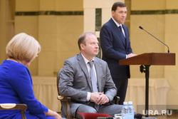 Встреча губернатора СО с новыми Думами Качканара, Верхней Пышмы и других муниципалитетов. Екатеринбург, шептий виктор, куйвашев евгений