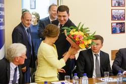 Встреча Куйвашева с фракцией Единой России в гордуме Екатеринбурга, куйвашев евгений, овчинникова ира