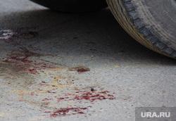 Авария грузовик. Нижневартовск., авария, кровь на асфальте