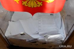 Выборы. Избиратели. Челябинск., урна, выборы, бюллетени