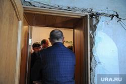 Выезд Бориса Дубровского в Катав-Ивановск после землетрясения. Челябинская область, дубровский борис, трещины в стенах