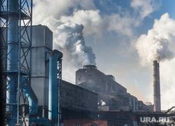 Нижнетагильский металлургический комбинат. Совещание во главе с Евгением Куйвашевым во Дворце культуры города. Нижний Тагил, дым, экология, промышленность, труба, выбросы