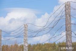 Музей тюрьмы.  Пермь-36, колючая проволока, зона, ограждение, колония, тюрьма