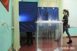 Выборы губернатора Свердловской области. Екатеринбург, выборы 2017, избирательный участок244, голосование, урна для голосования