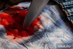 Окровавленный нож. Курган, кровь, окровавленный нож, убийство