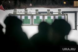 Однодневные сборы парламентариев и прессы в 21 бригаде Росгвардии. Москва, мишени, стрельба, тир