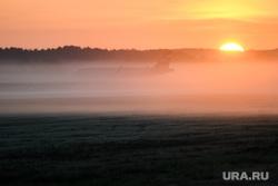 Споттинг в Кольцово. Екатеринбург, туман, рассвет, самолет