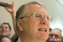 Кандидат в президенты России Владимир Жириновский в Екатеринбурге, жириновский владимир