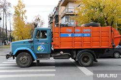 Субботник. Челябинск., мусоровоз