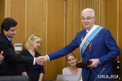 Первое заседание гордумы Екатеринбурга седьмого созыва, рукопожатие, высокинский александр, якоб александр