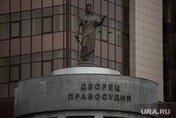 Судебное заседание по Евгению Маленкину в Областном суде. Екатеринбург, дворец правосудия, фемида, скульптура