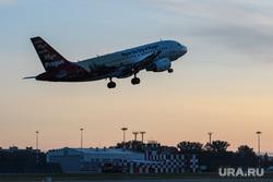 Споттинг в Кольцово. Екатеринбург, взлет, самолет, чешские авиалинии