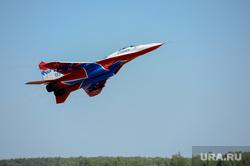 День ВВС. Стрижи. Чввауш. Челябинск., самолет, стрижи, миг-29, истребитель