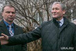 Открытие скейт-городка, осмотр губернатором Алексеем Кокориным объектов программы