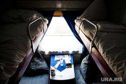 Виды Перми, ржд, купейный вагон, купе, туризм, путешествие поездом, спальные места, верхние полки